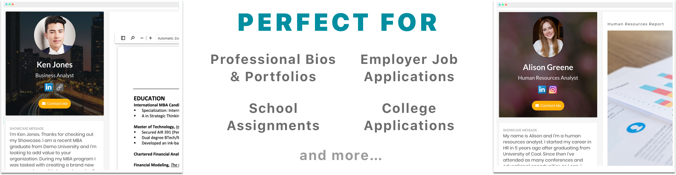 Perfect for personal, professional, school, and applications